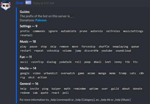 Exemple de bot Discord